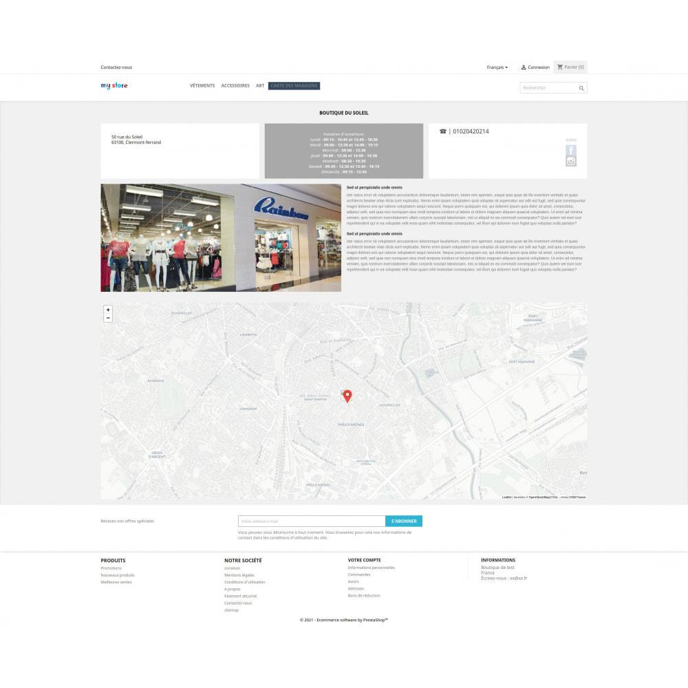 module - Punto di raccolta & Ritiro in negozio - Pro Store locator SEO (free no Google Maps) - 6