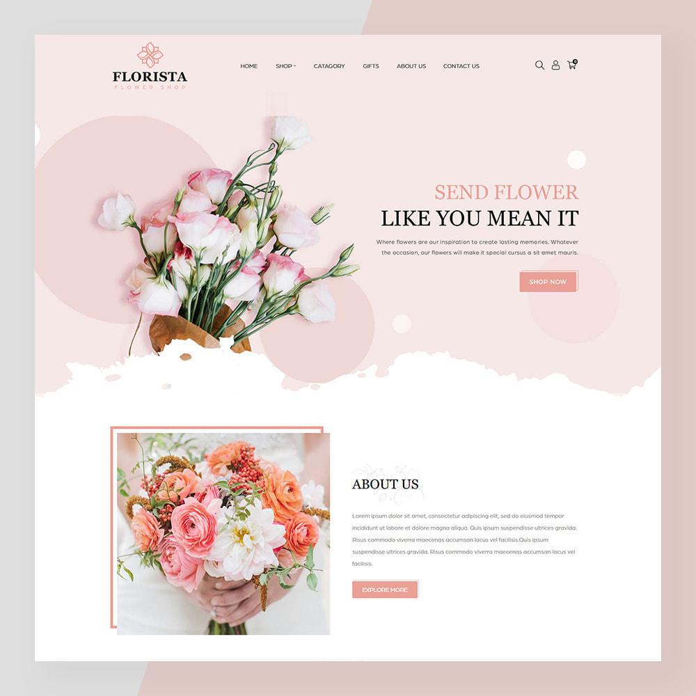 theme - Geschenke, Blumen & Feiern - Florista- Flower and Gift Store - 2