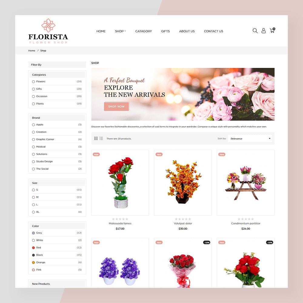 theme - Geschenke, Blumen & Feiern - Florista- Flower and Gift Store - 3