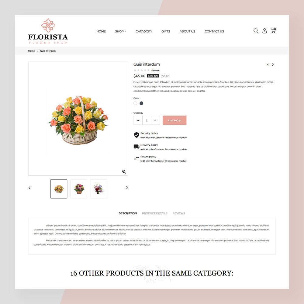 theme - Geschenke, Blumen & Feiern - Florista- Flower and Gift Store - 5