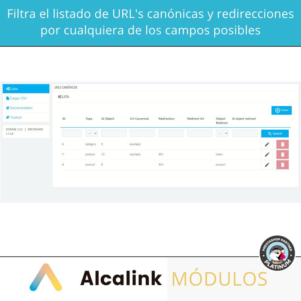 module - URL y Redirecciones - 2x1: Canonical SEO + Redirecciones SEO - 3