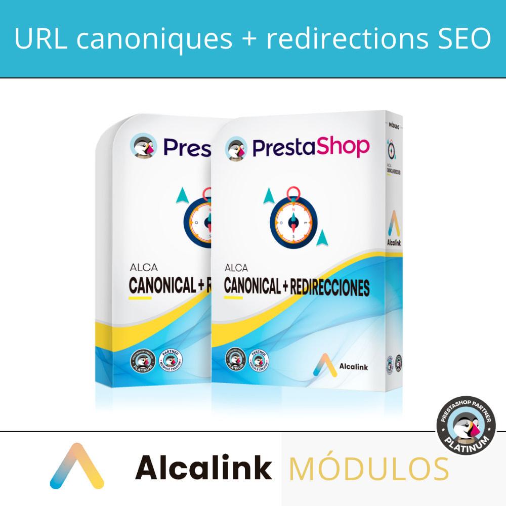 module - URL & Redirections - 2x1: SEO canonique + redirections SEO - 1