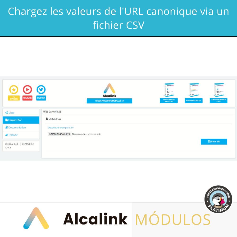 module - URL & Redirections - 2x1: SEO canonique + redirections SEO - 4