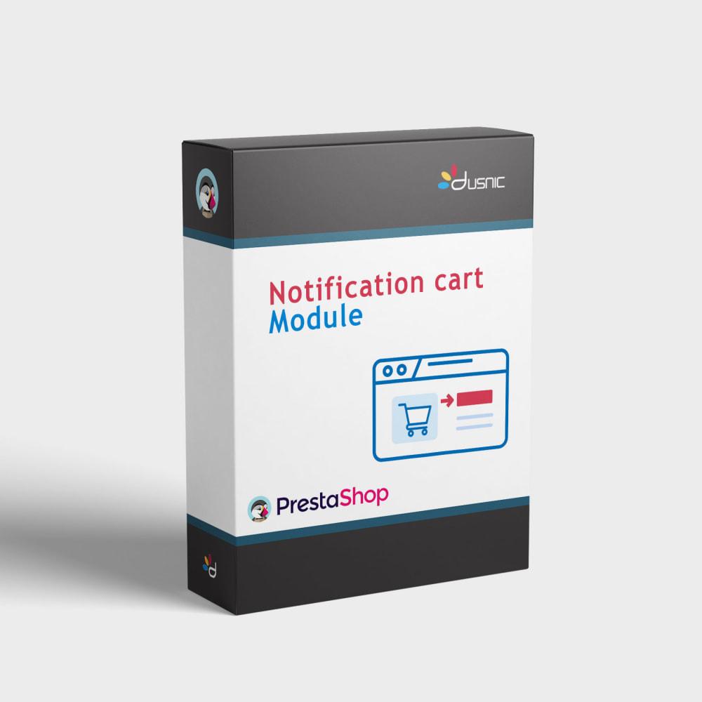 module - Procedury składania zamówień - Cart notification - 1