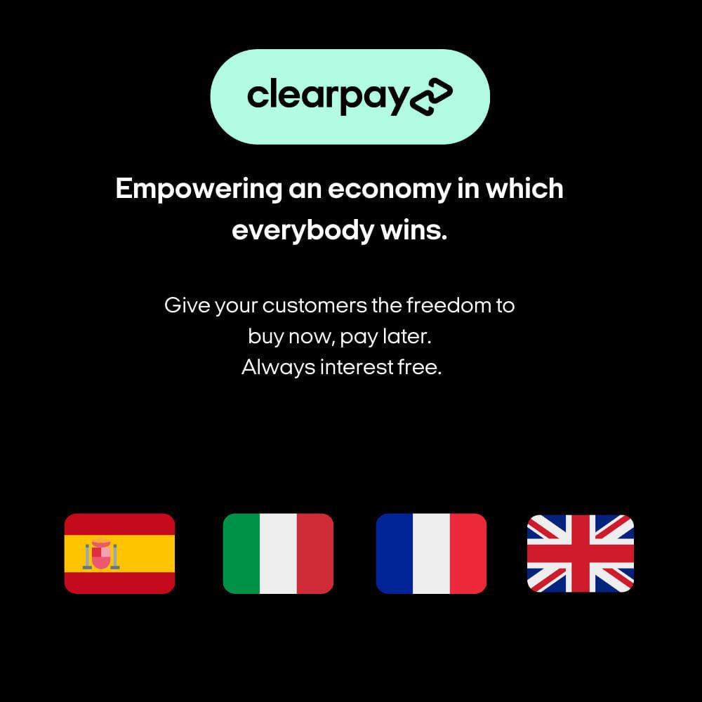 module - Платежи и платежные системы - Clearpay - 3
