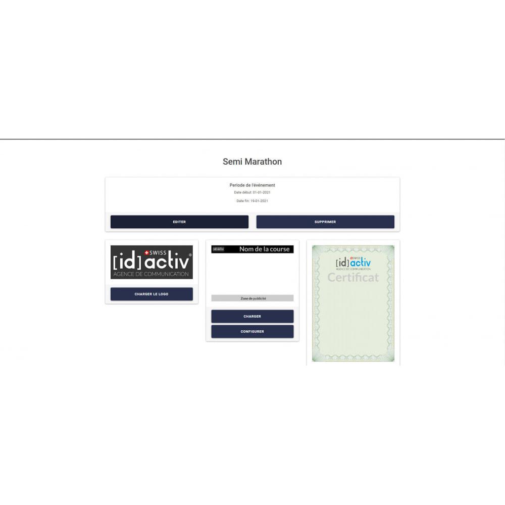 module - Blog, Forum & Actualités - Générateur de dossard et de certificat - 3