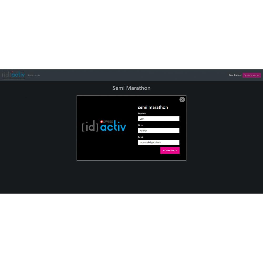 module - Blog, Forum & Actualités - Générateur de dossard et de certificat - 6