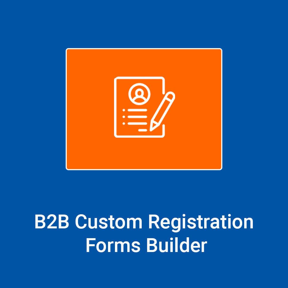 module - Registratie en Proces van bestellingen - B2B Custom Registration Forms Builder - 1
