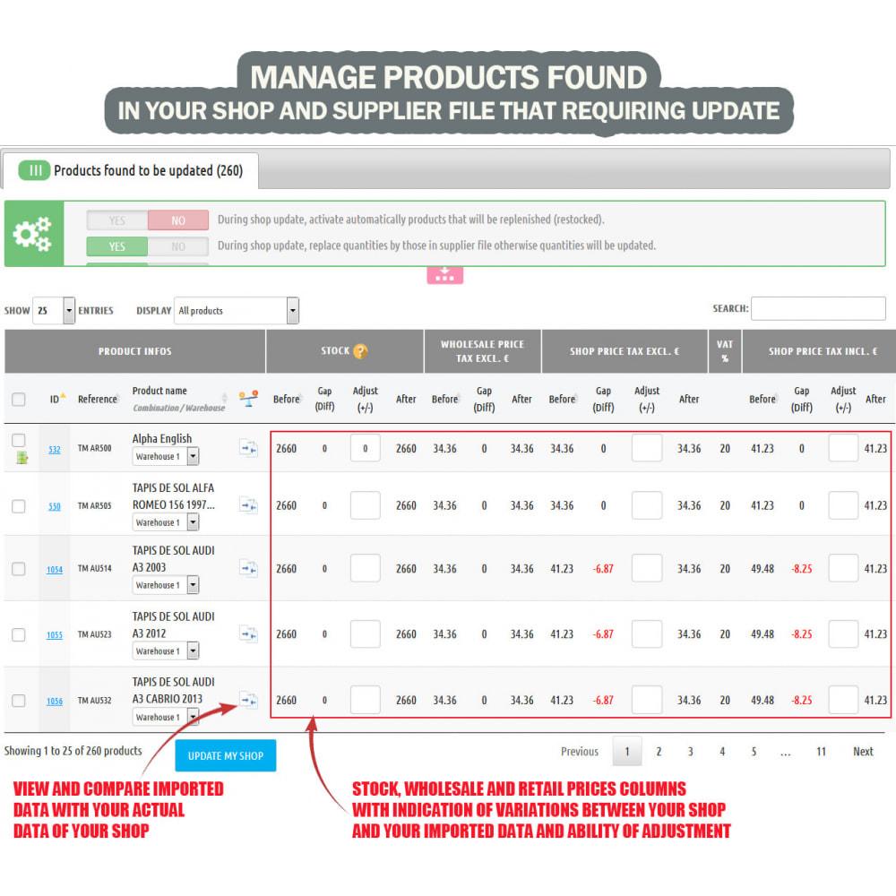 module - Быстрое & массовое редактирование - Wk Stock Manager - 3