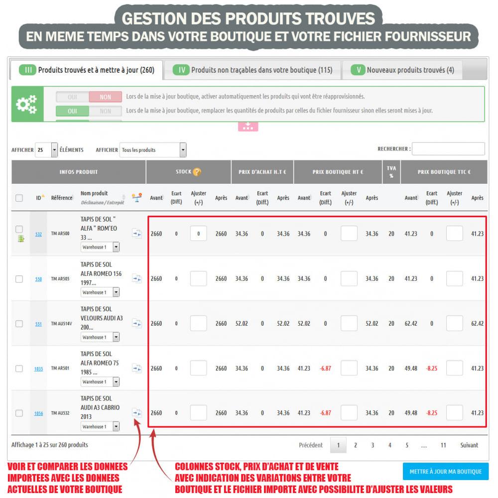 module - Edition rapide & Edition de masse - Wk Gestion de Stock - 3