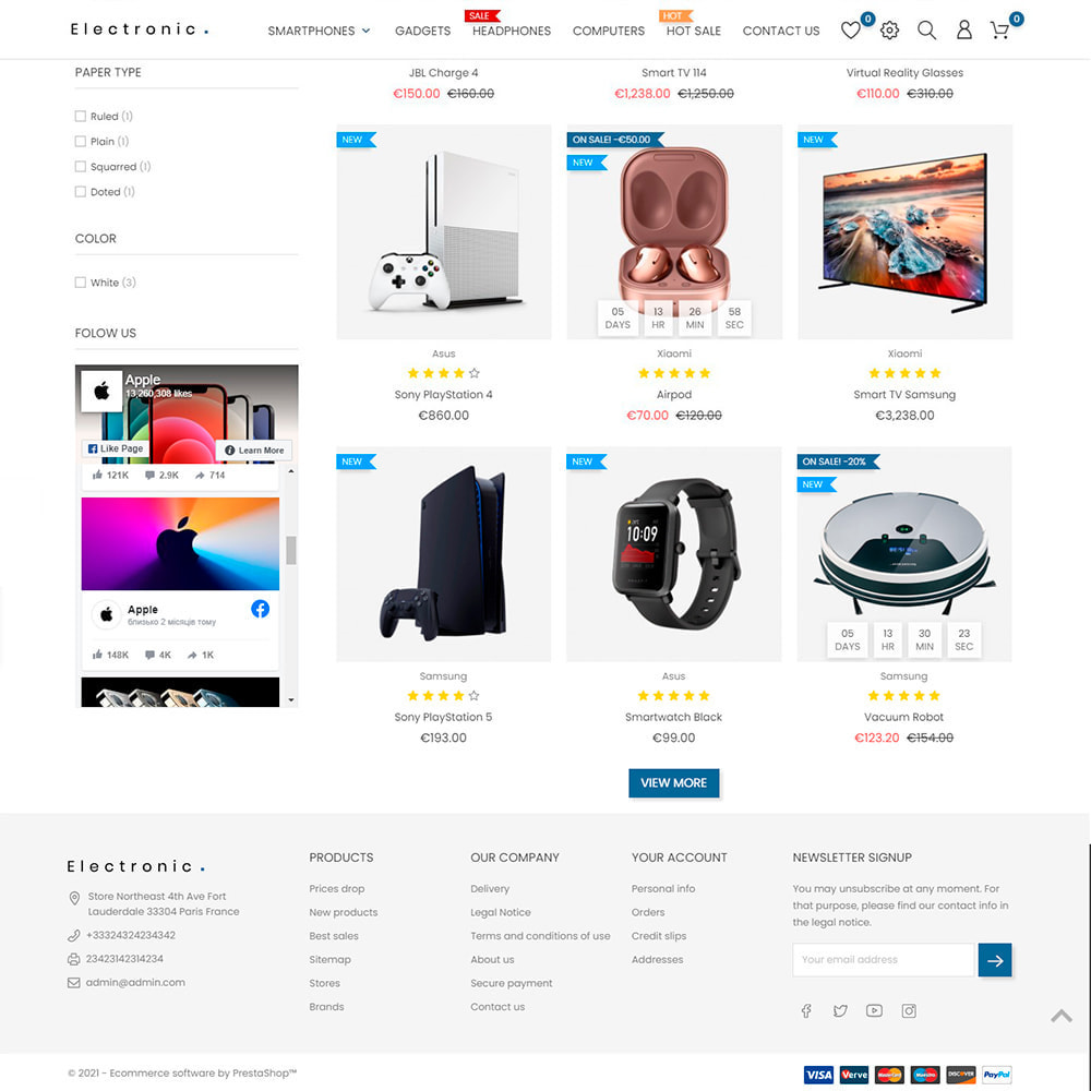module - Outils de navigation - Infinite Scroll & Load More Product - 2