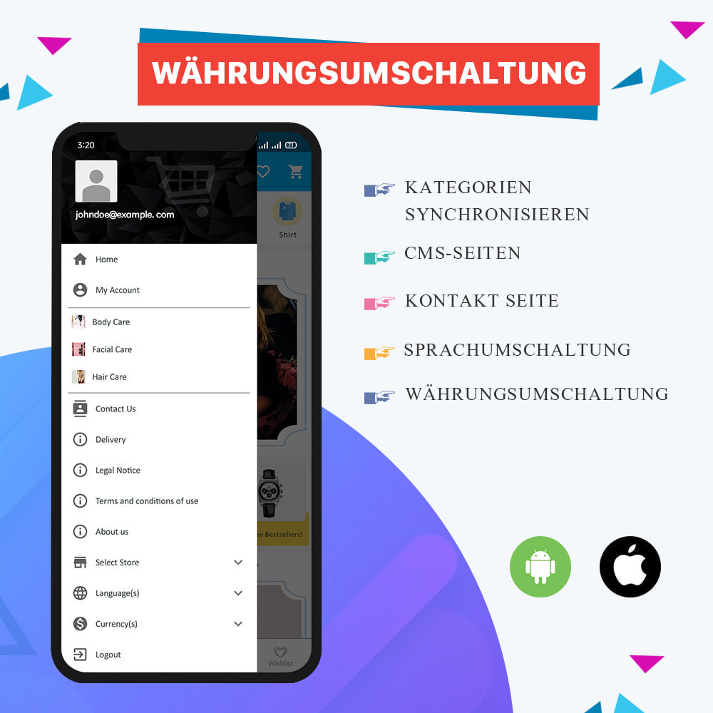 module - Mobile Endgeräte - Knowband - Android und iOS Mobile App Builder - 5