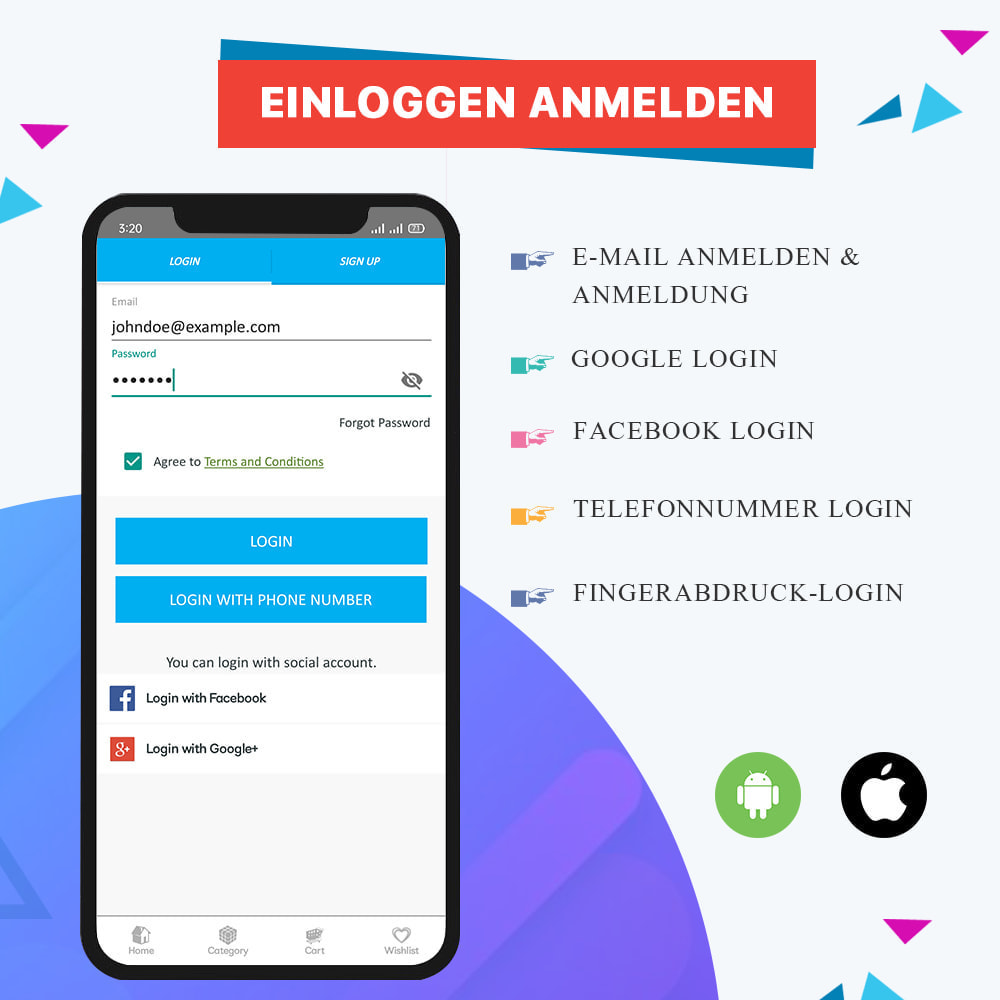 module - Mobile Endgeräte - Knowband - Android und iOS Mobile App Builder - 6