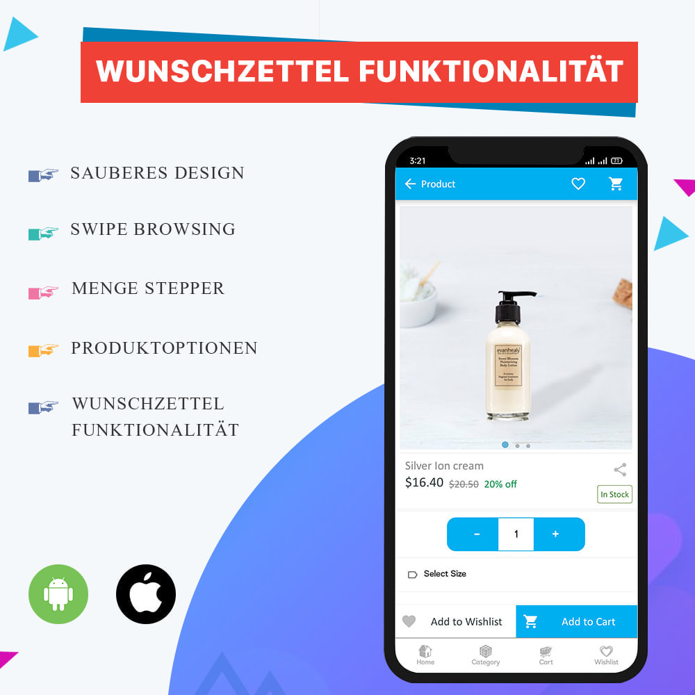 module - Mobile Endgeräte - Knowband - Android und iOS Mobile App Builder - 7