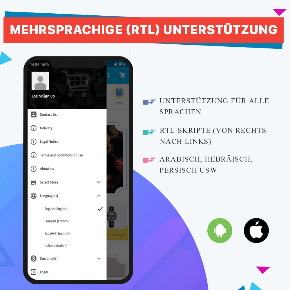 module - Mobile Endgeräte - Knowband - Android und iOS Mobile App Builder - 10