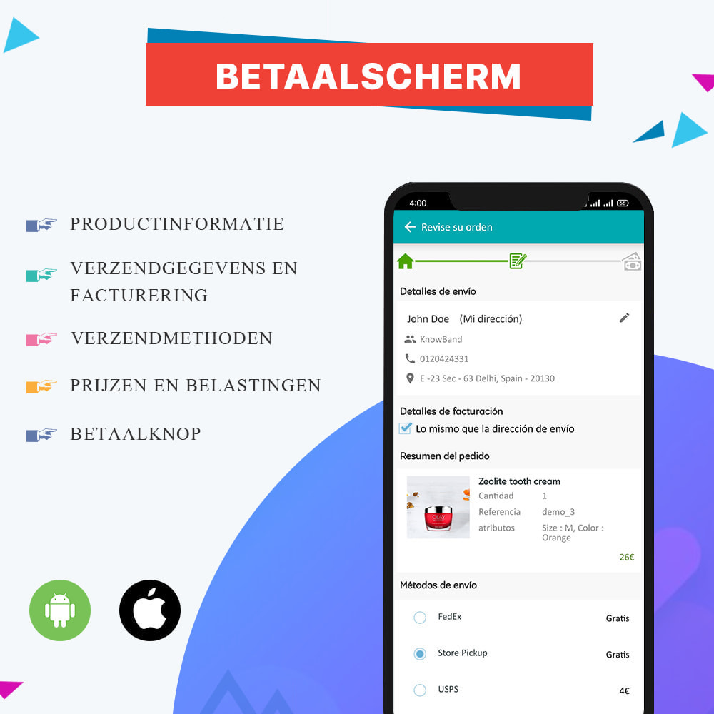 module - Mobiele apparaten - Knowband - Android en iOS Mobile App Builder - 11