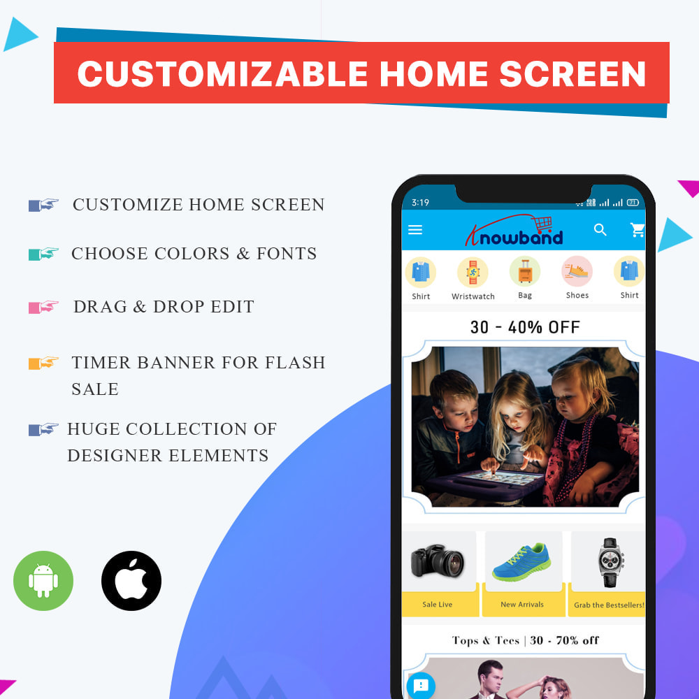 module - Mobile - Knowband - Android and iOS Mobile App Builder - 1