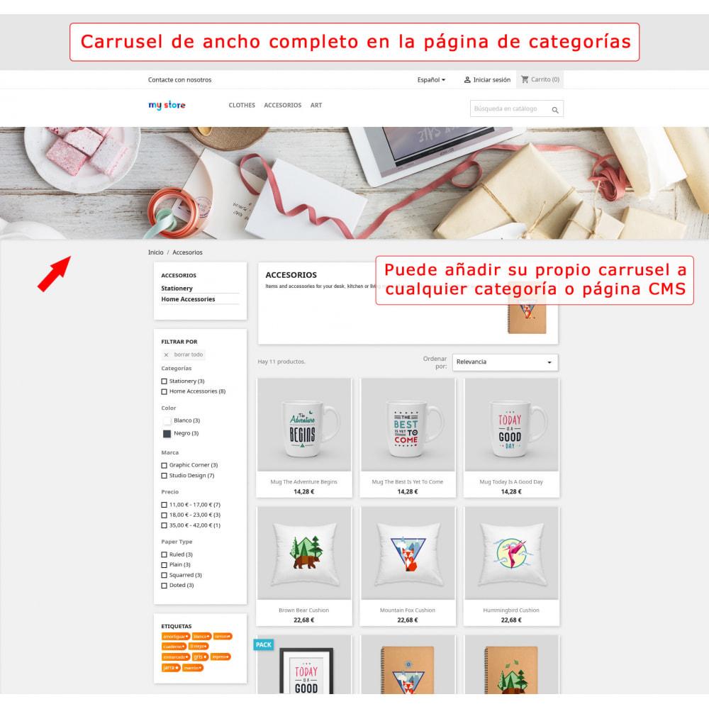 module - Sliders y Galerías de imágenes - Carrusel de pantalla completa - 3