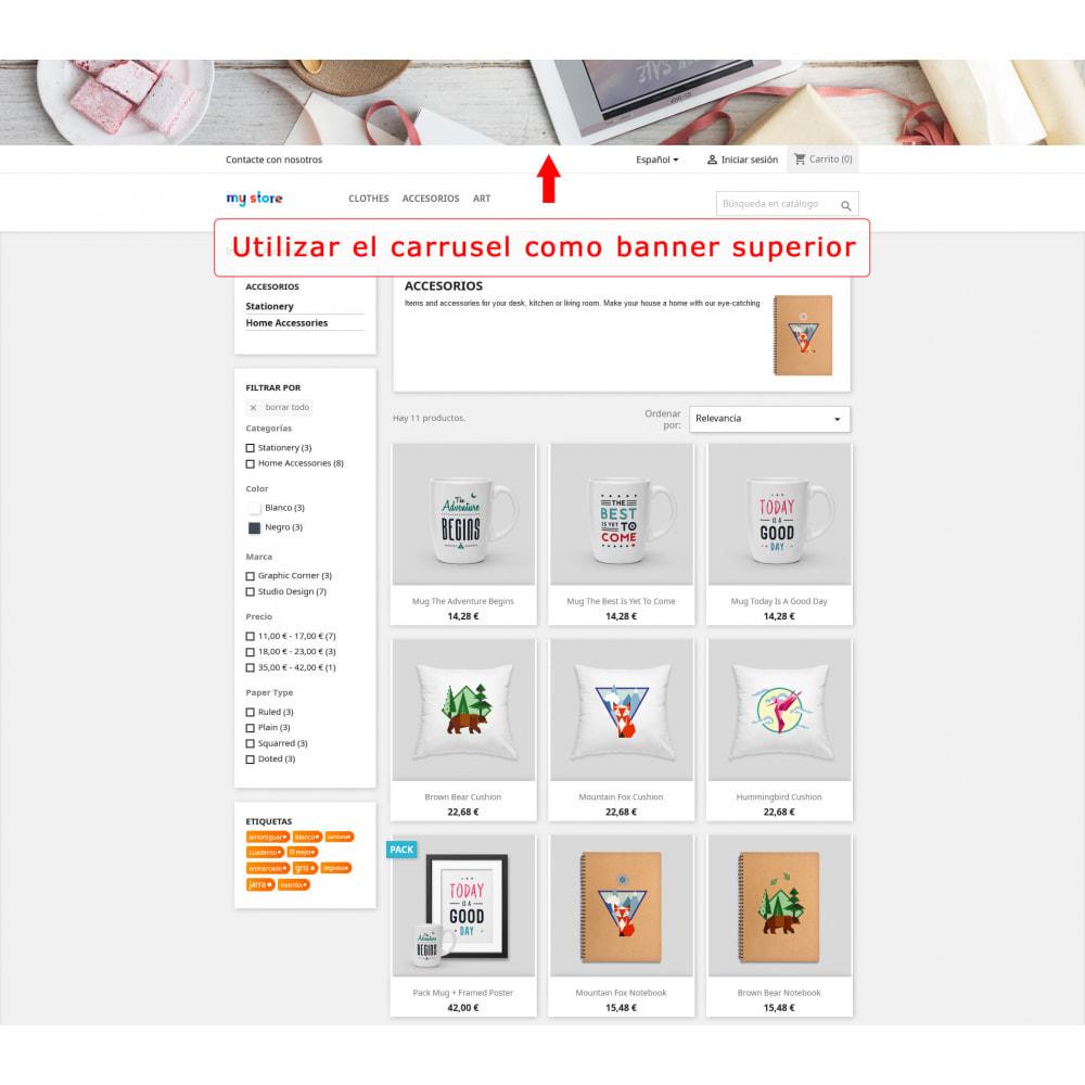 module - Sliders y Galerías de imágenes - Carrusel de pantalla completa - 4