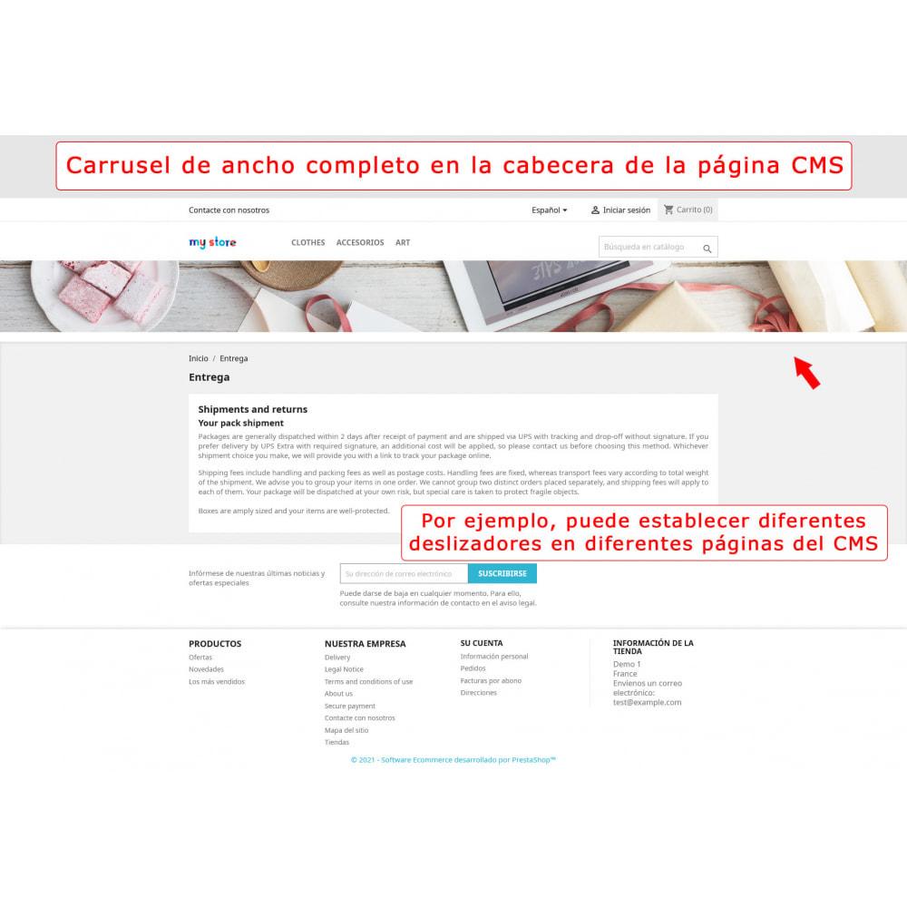 module - Sliders y Galerías de imágenes - Carrusel de pantalla completa - 6