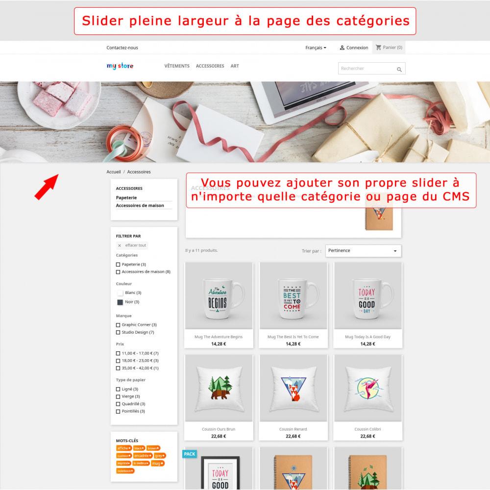 module - Sliders & Galeries - Slider pleine largeur - 3