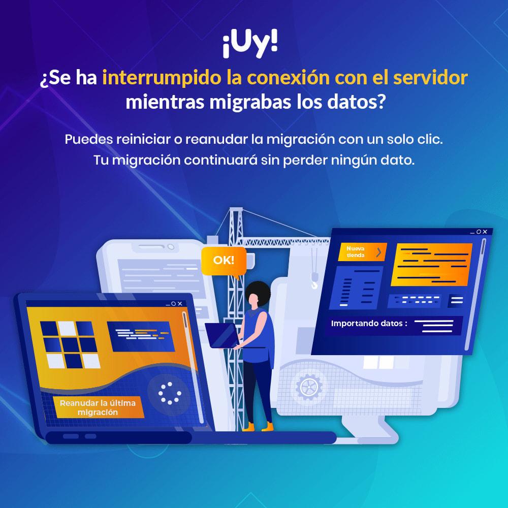 module - Migración y Copias de seguridad - MIGRATION 4.0–Herramienta de Actualización y Migración - 8