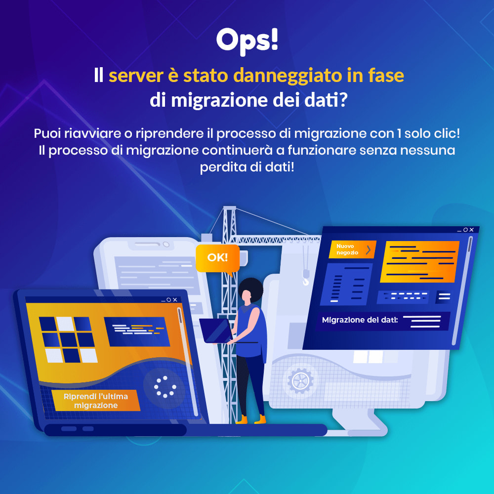 module - Data Migration & Backup - MIGRATION 4.0 – Strumento per l'upgrade e la migrazione - 8