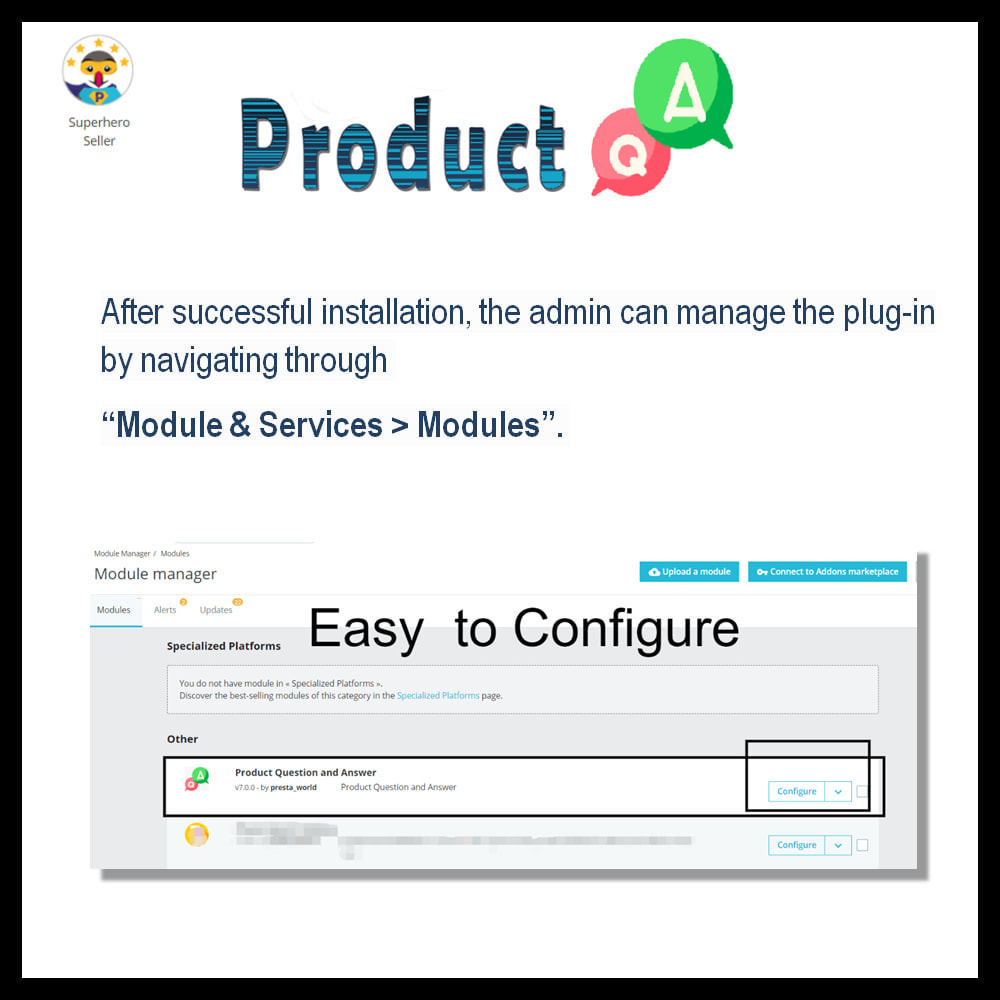 module - FAQ (Frequently Asked Questions) - Product Question and Answer -Ask Question, Get Answers - 3
