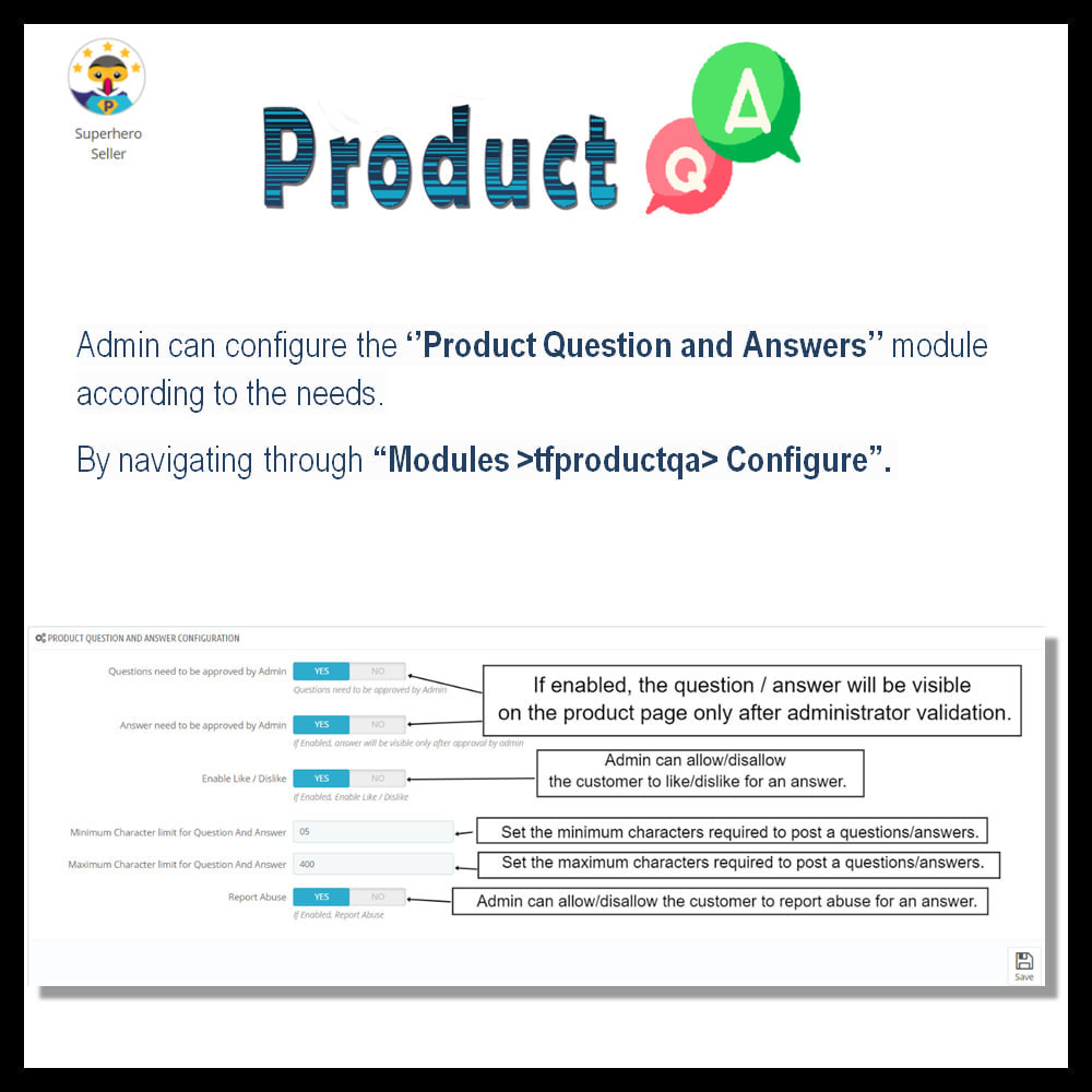 module - FAQ (Frequently Asked Questions) - Product Question and Answer -Ask Question, Get Answers - 4