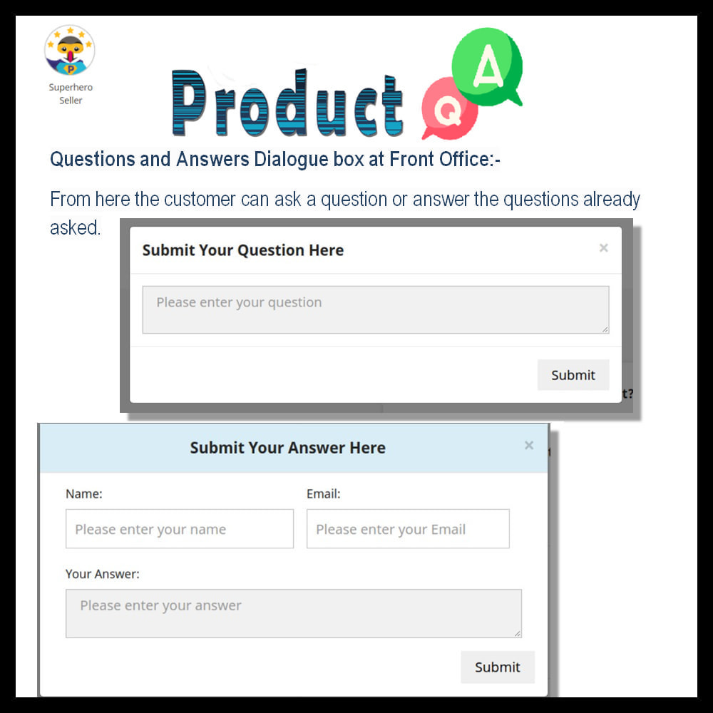 module - FAQ (Frequently Asked Questions) - Product Question and Answer -Ask Question, Get Answers - 9