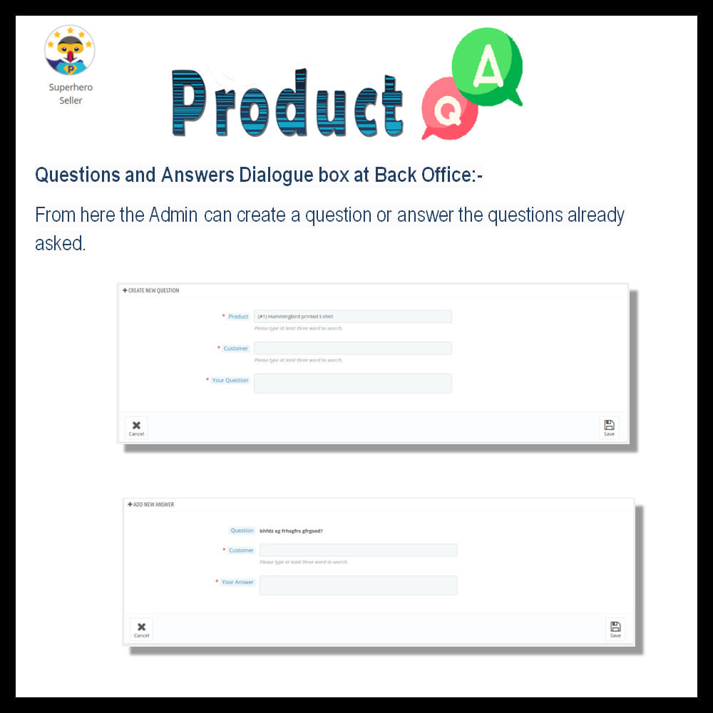 module - FAQ (Frequently Asked Questions) - Product Question and Answer -Ask Question, Get Answers - 10