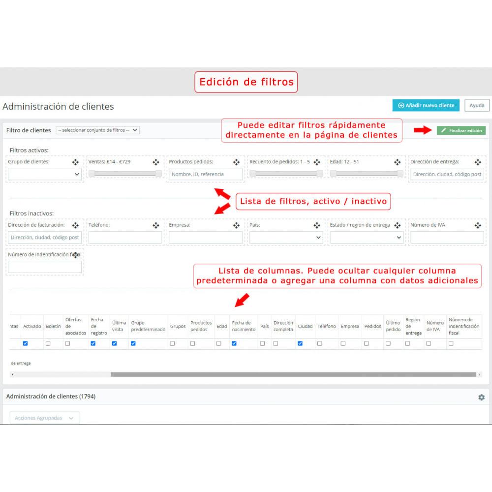 module - Búsquedas y Filtros - Filtro mejorado de los clientes - 2