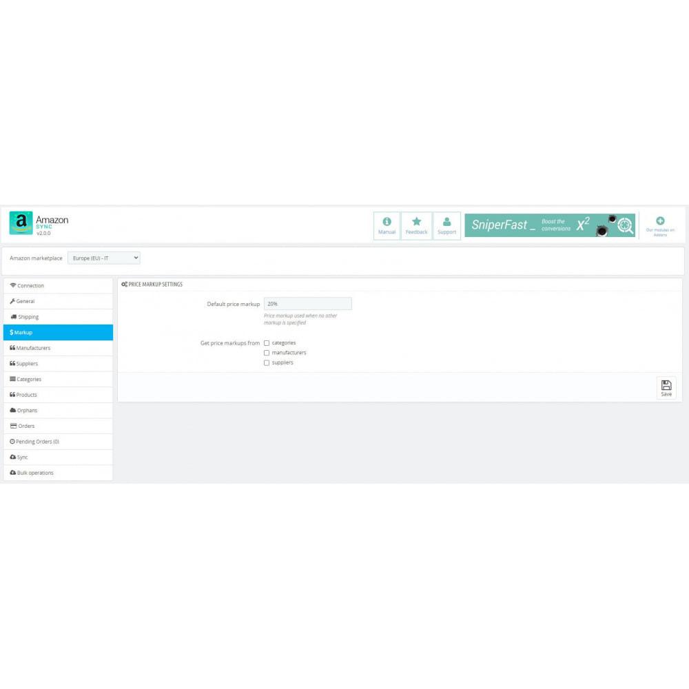 module - Marketplaces - Amazon Sync Marketplace - 3