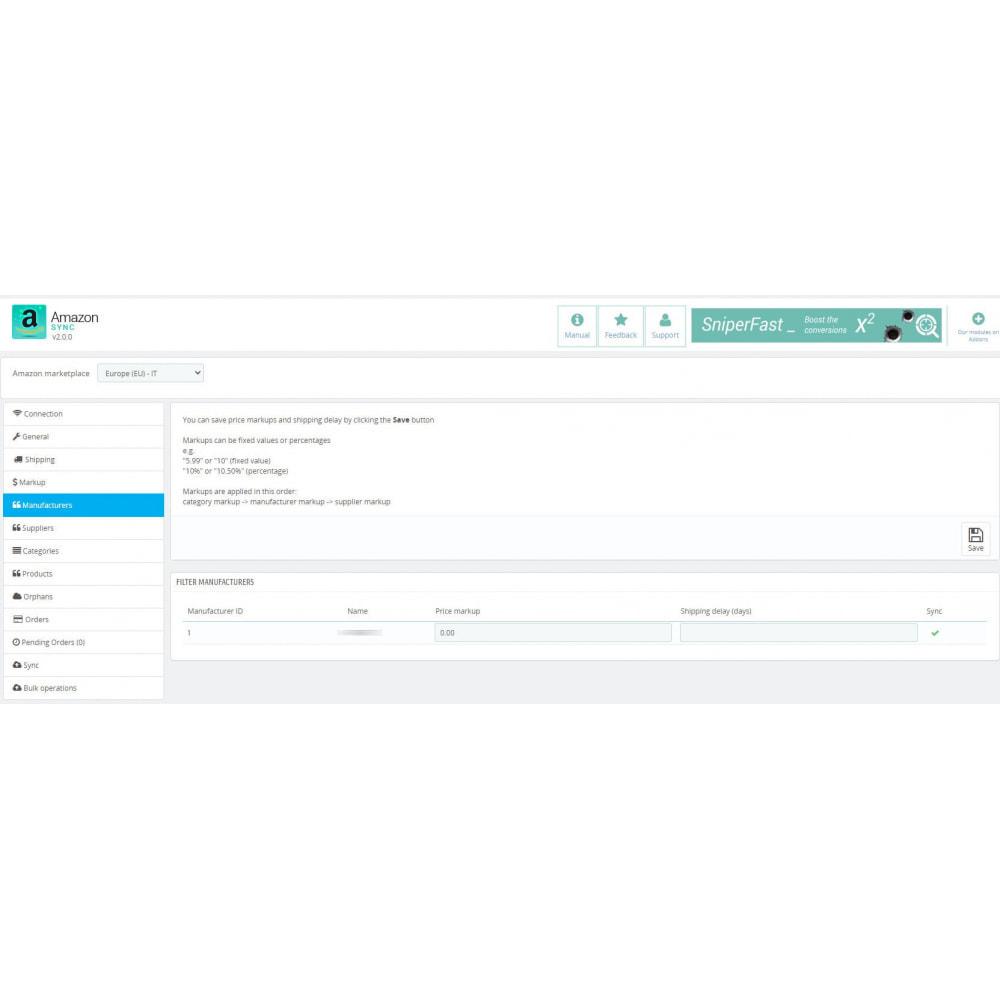 module - Marketplaces - Amazon Sync Marketplace - 4