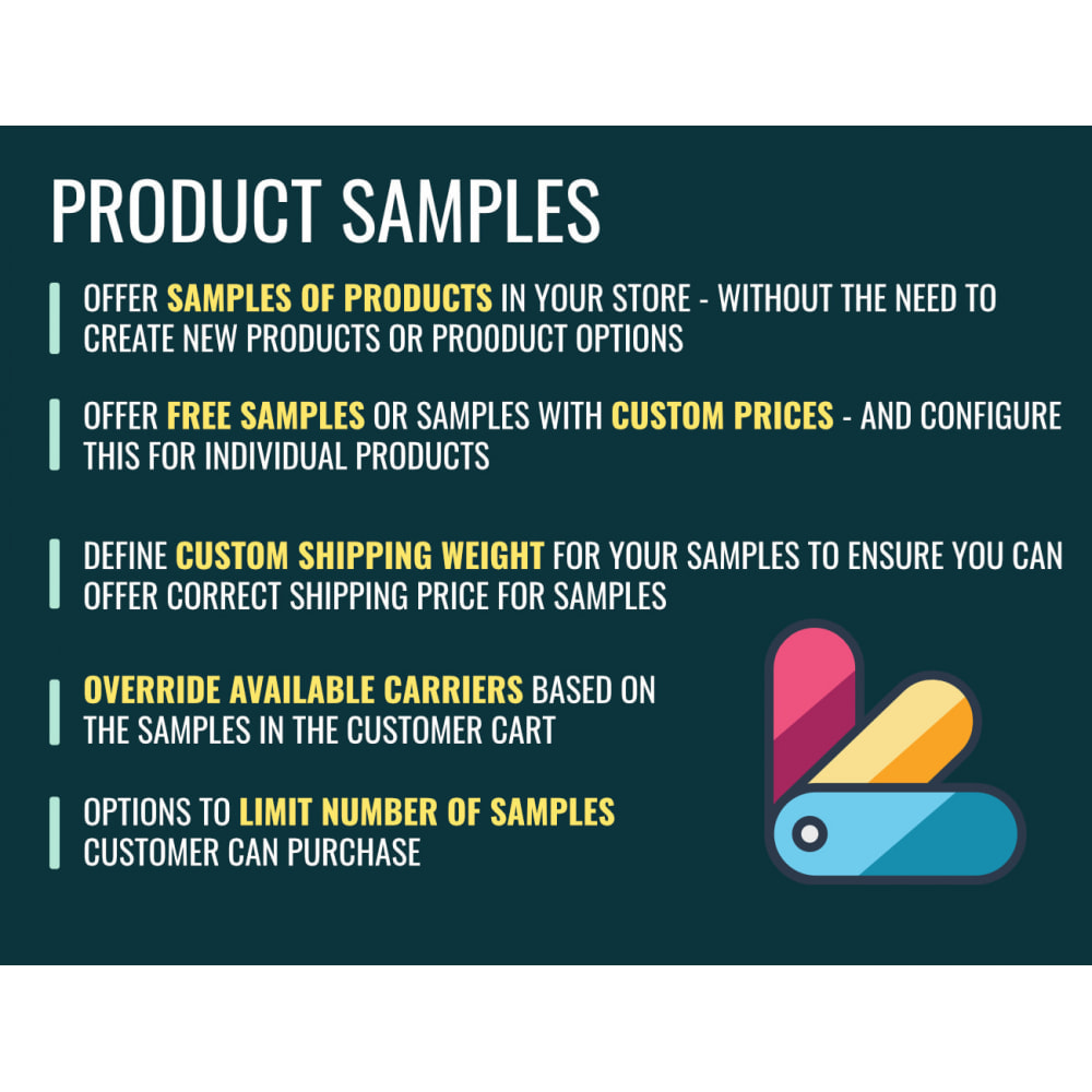 module - Additional Information & Product Tab - Product Samples - 1