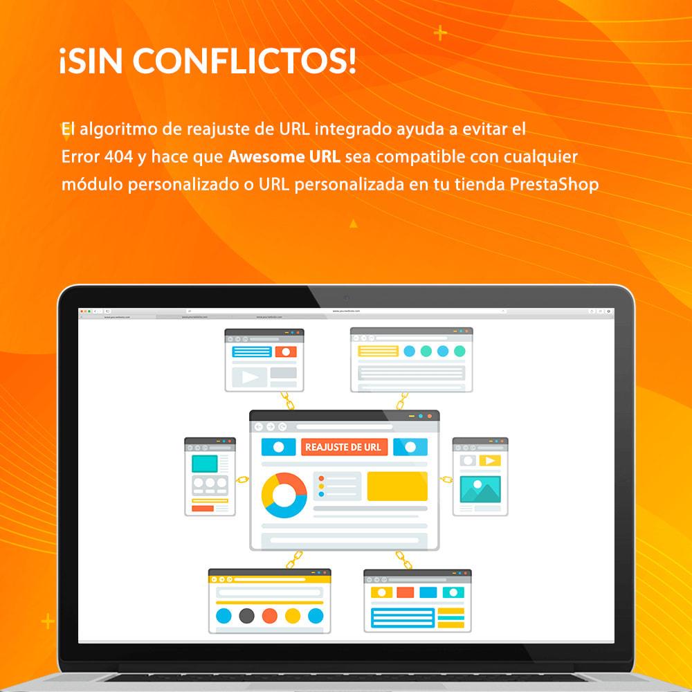 module - URL y Redirecciones - Awesome URL - Elimina ID (números) y código ISO en URL - 7