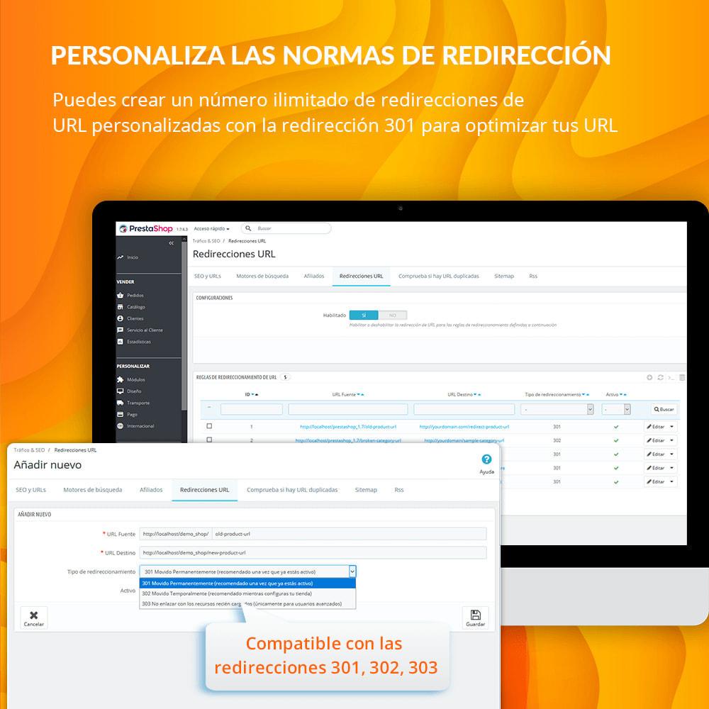 module - URL y Redirecciones - Awesome URL - Elimina ID (números) y código ISO en URL - 9