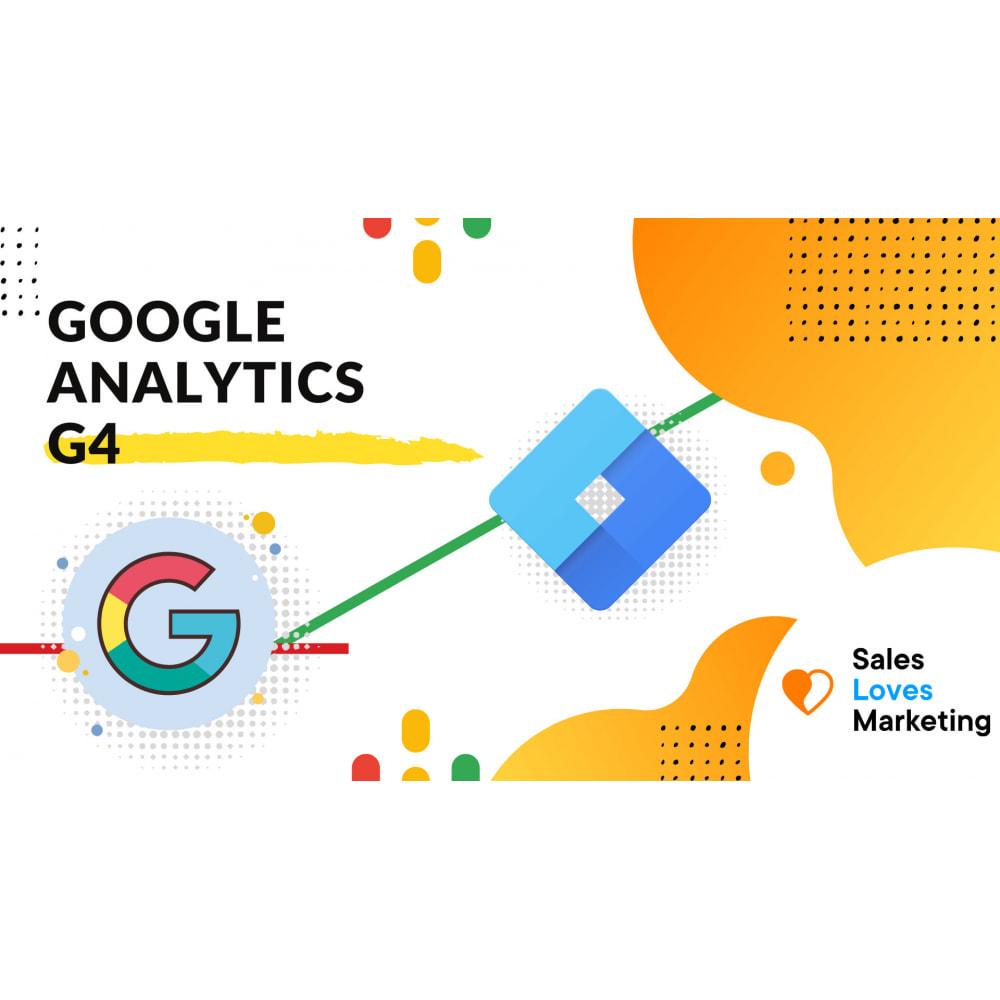 module - Статистика и анализ - Google Analytics and Universal Analytics - GA4 - 1