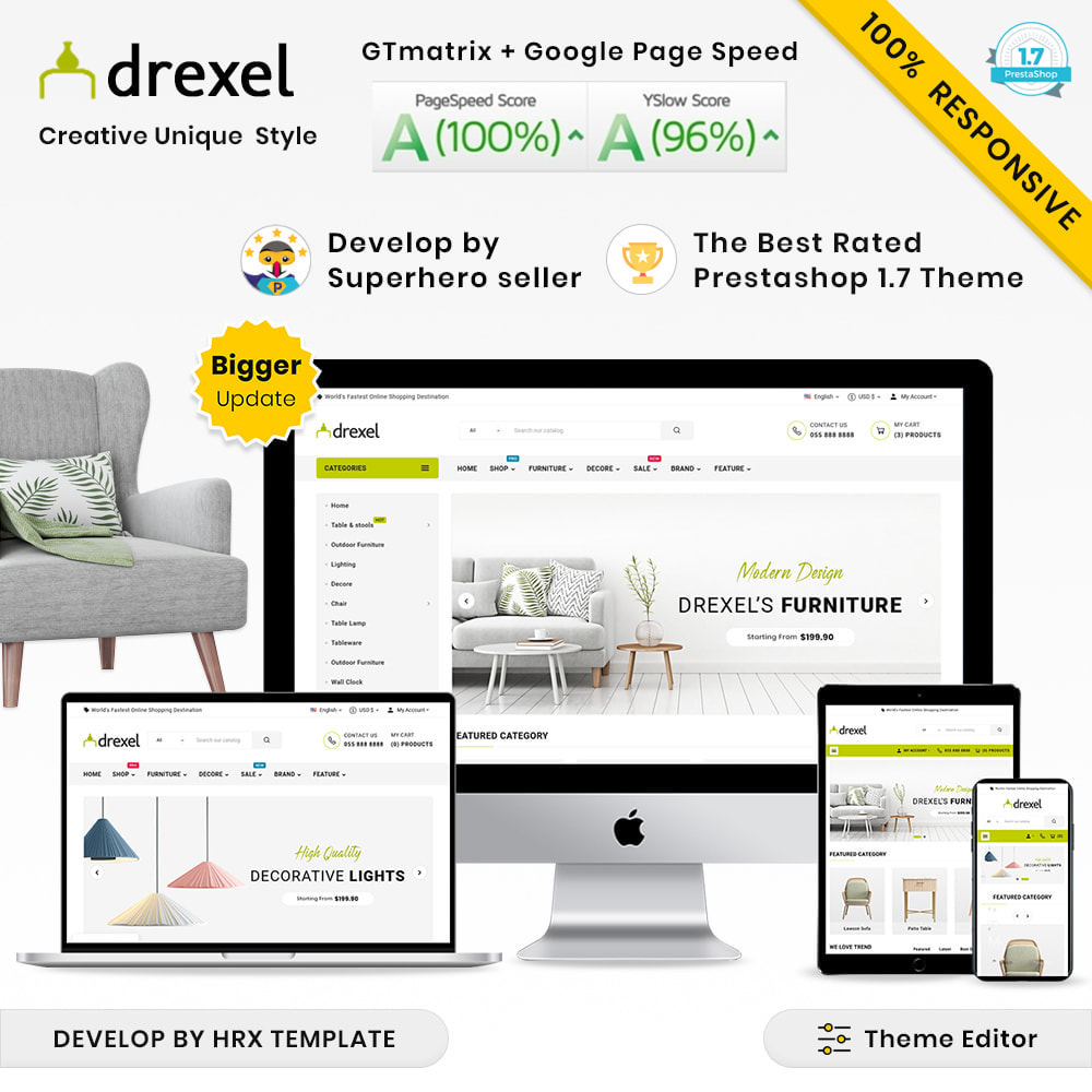 theme - Dom & Ogród - Drexel Mega Furniture–Garden Multi–Purpose Super Shop - 1