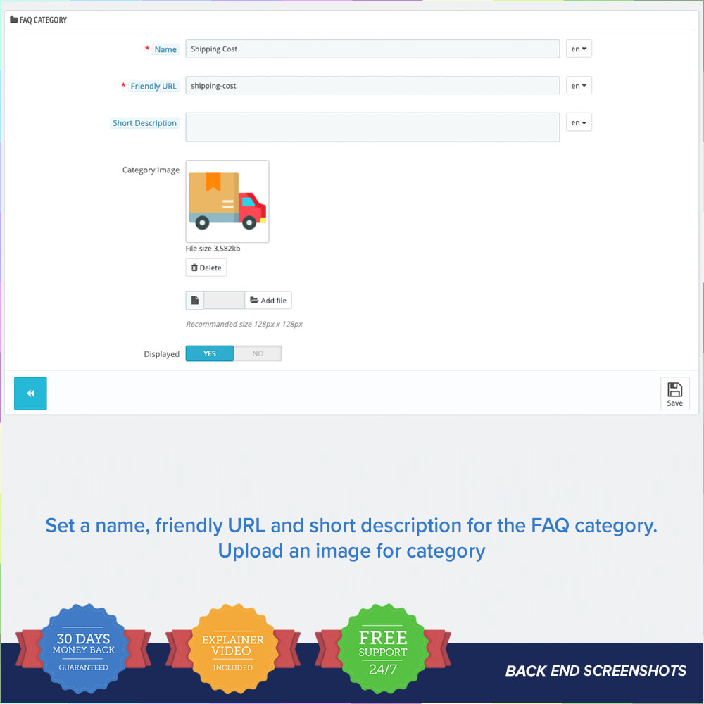 module - FAQ (questions fréquentes) - FAQ - Complete pack for support - 11