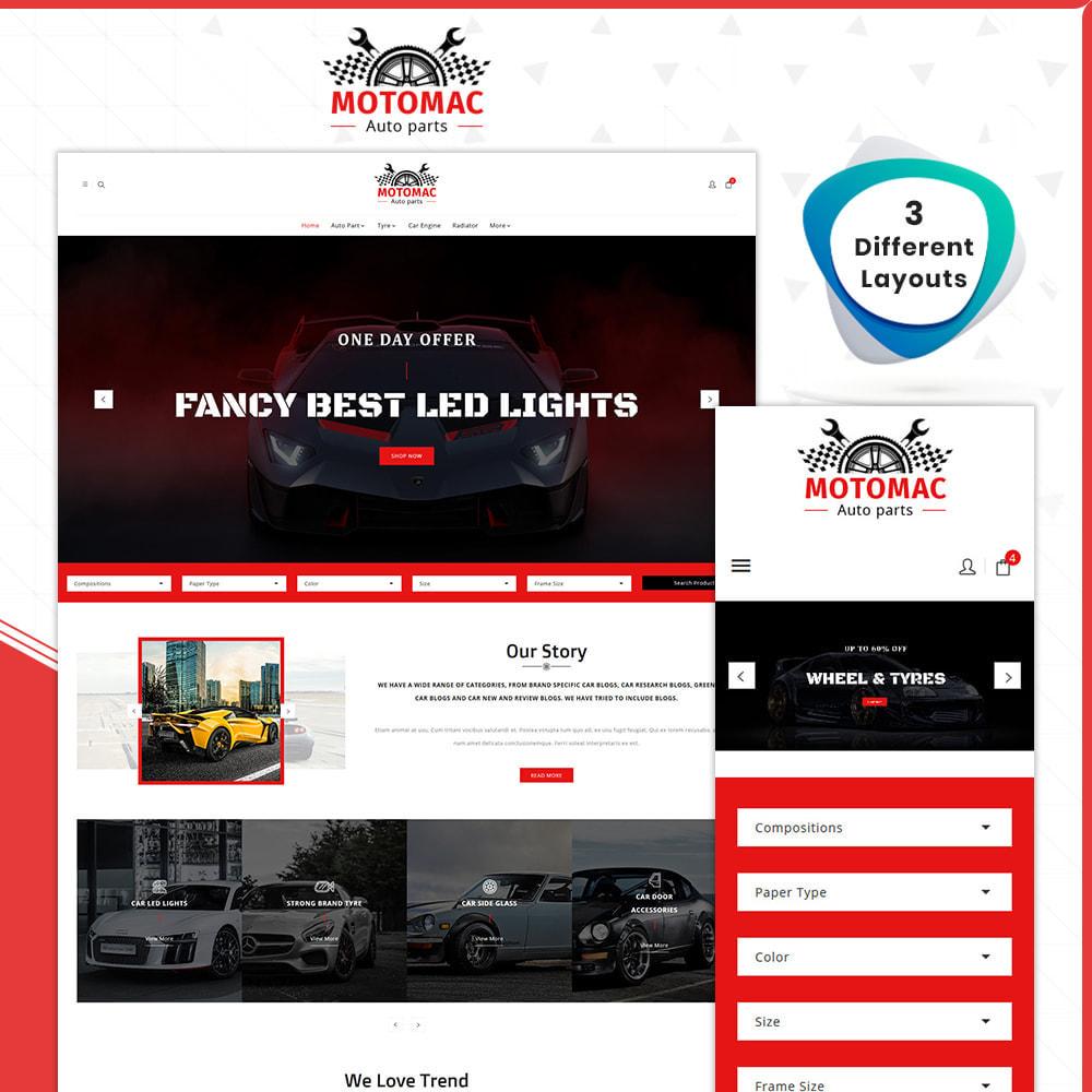 theme - Coches y Motos - MotoMac Auto Part Store - 1