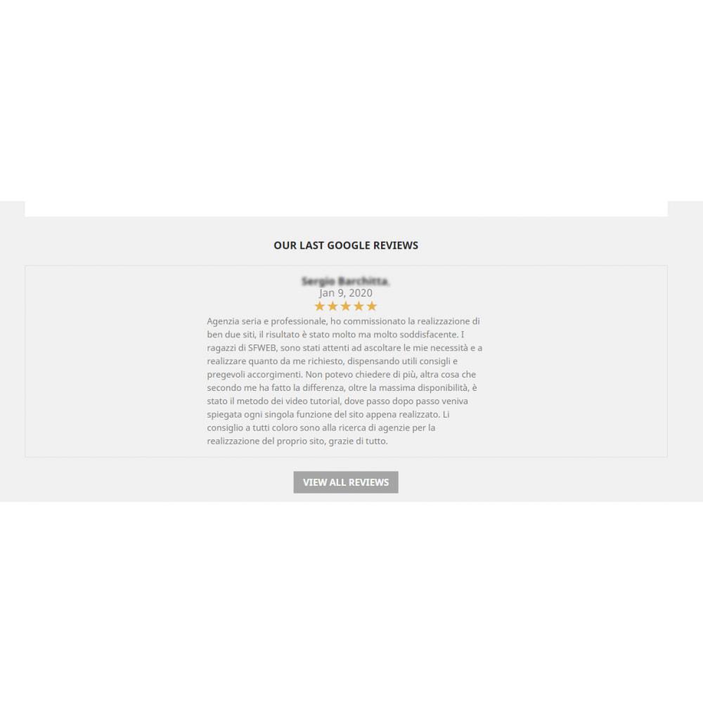 module - Opinie klientów - Embed Google My Business Reviews - 3