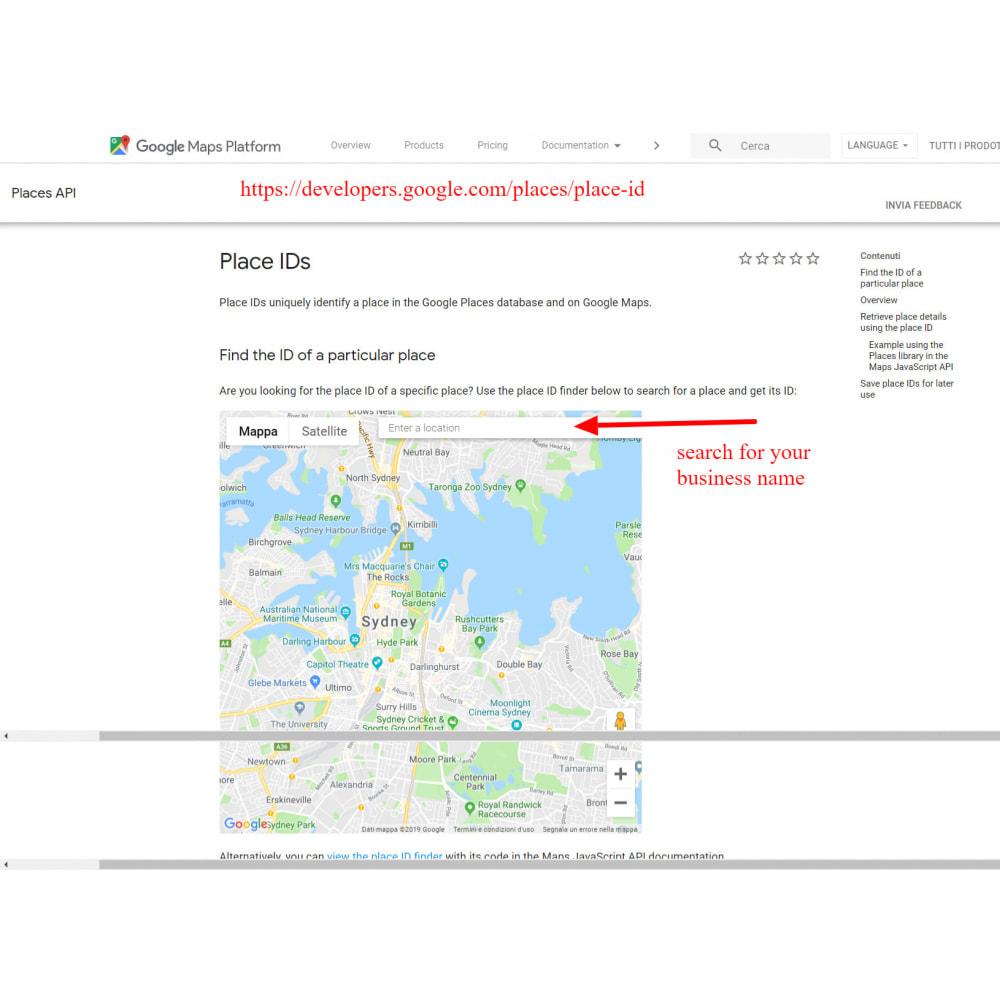 module - Opinie klientów - Embed Google My Business Reviews - 8