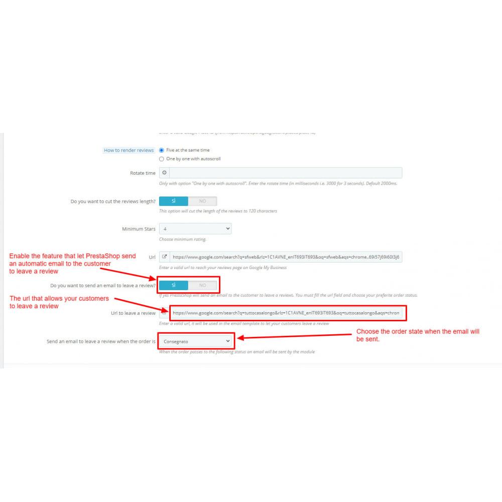 module - Opinie klientów - Embed Google My Business Reviews - 10