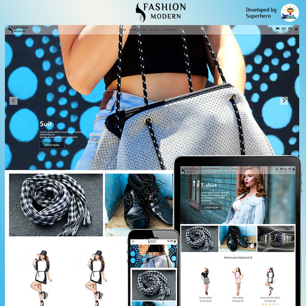theme - Fashion & Shoes - Modern Fashion - 1