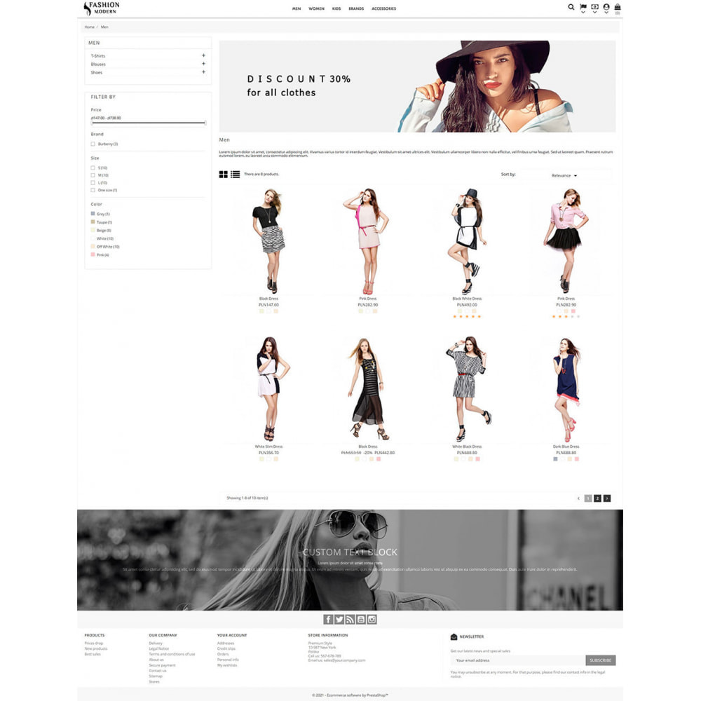 theme - Fashion & Shoes - Modern Fashion - 4