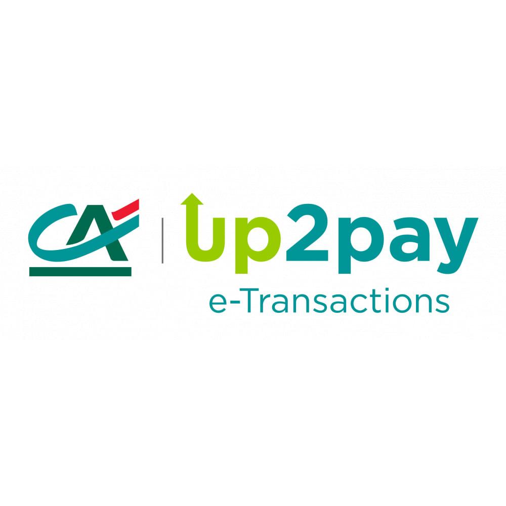 module - Pagamento con Carta di Credito o Wallet - Up2pay e-Transactions Crédit Agricole - 1