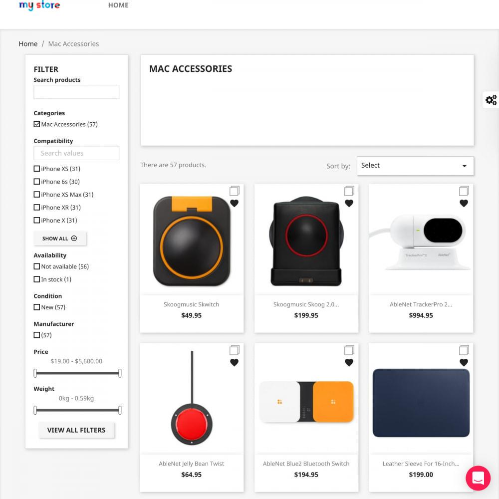 module - Поиск и фильтры - Advanced Search Filter Pro - 2