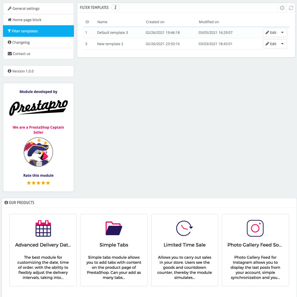 module - Поиск и фильтры - Advanced Search Filter Pro - 7