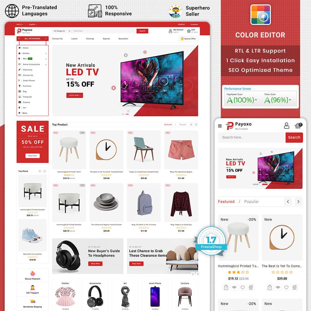 theme - Elektronica & High Tech - Payoxo - Digital Responsive Store - 1